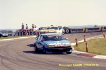 ROVER SD1 Vitesse. Jeff Allam Donington Park BTCC 1983 photo